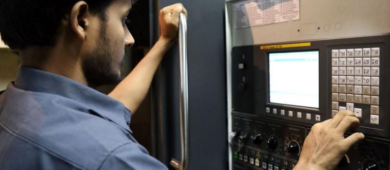 industrial controls worker