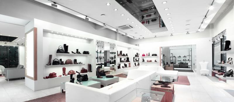 retail shop electrical lighting